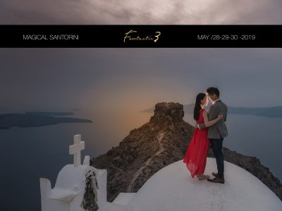 Magical Santorini with f3